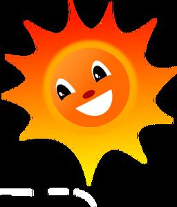 256x300 608 Sun Clip Art Image Public Domain Vectors