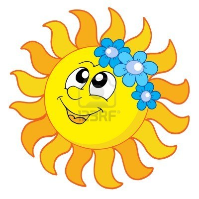 400x400 Smiling Sun With Flowers It's Always Sunny Flowers