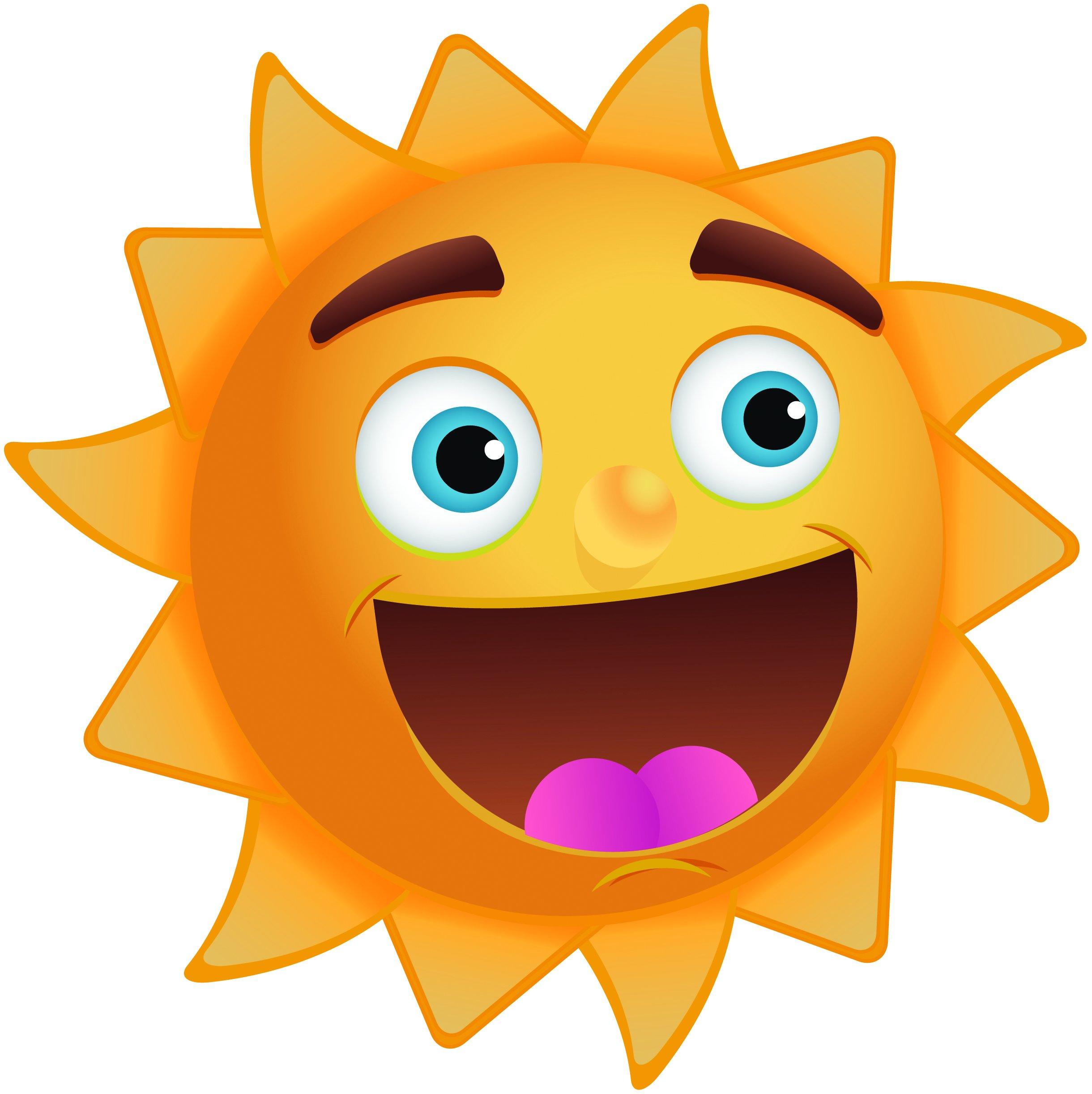 2440x2443 Smiling Sunshine Clipart Clipart