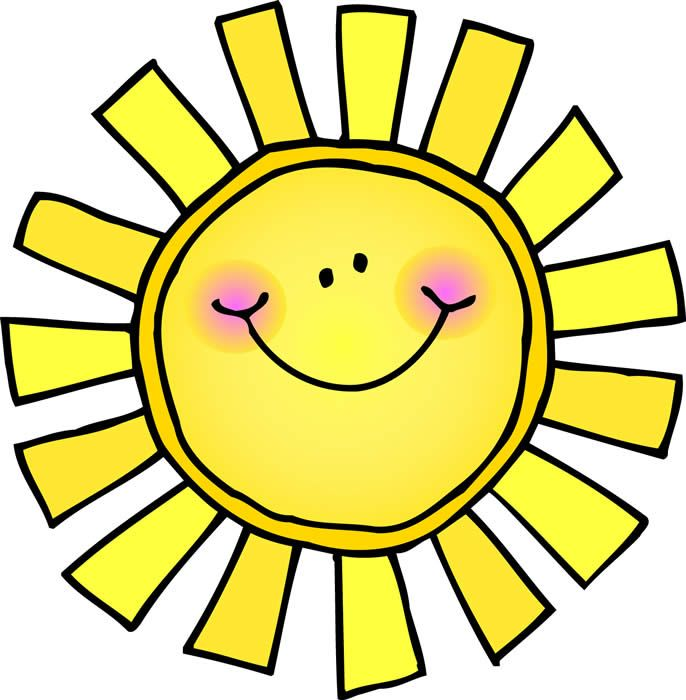 686x700 Adorable Clipart Sun