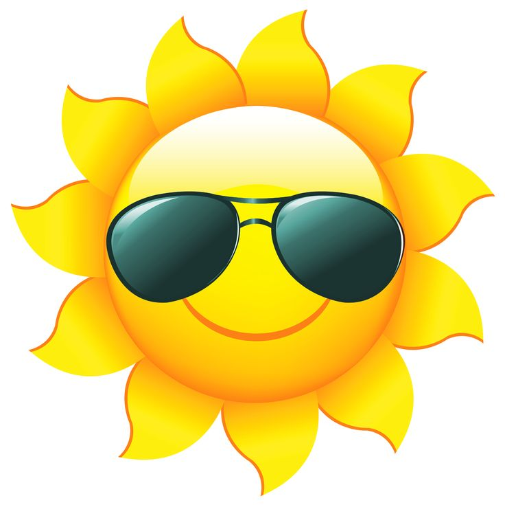 Smiling Sun Images Clipart