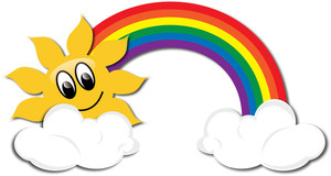300x160 Rainbow Clipart For Kids Clipart Panda