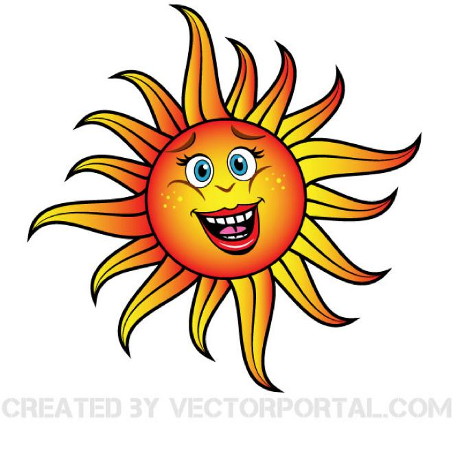 660x660 Smiling Sun Vector Graphics