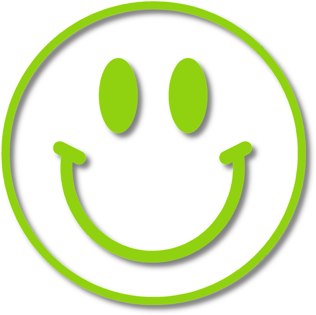1024x1023 Happy Face (With Shadow) If A Transparent Background Is