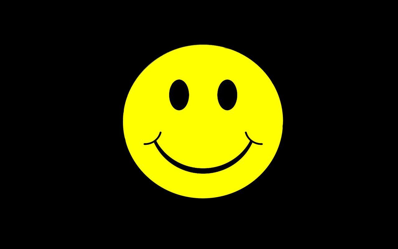 1280x800 Smiley Face Background