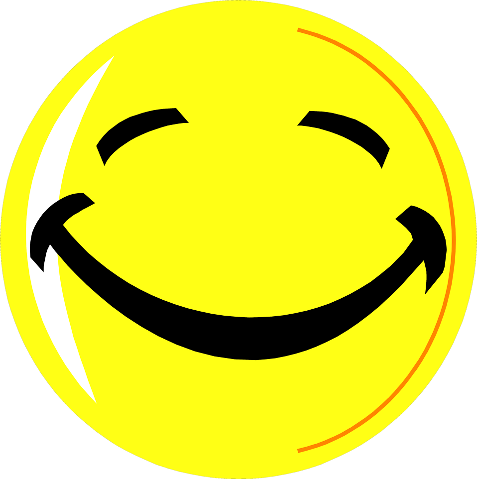 958x962 Smiley Face Free Stock Photo Illustration Of A Yellow Smiley