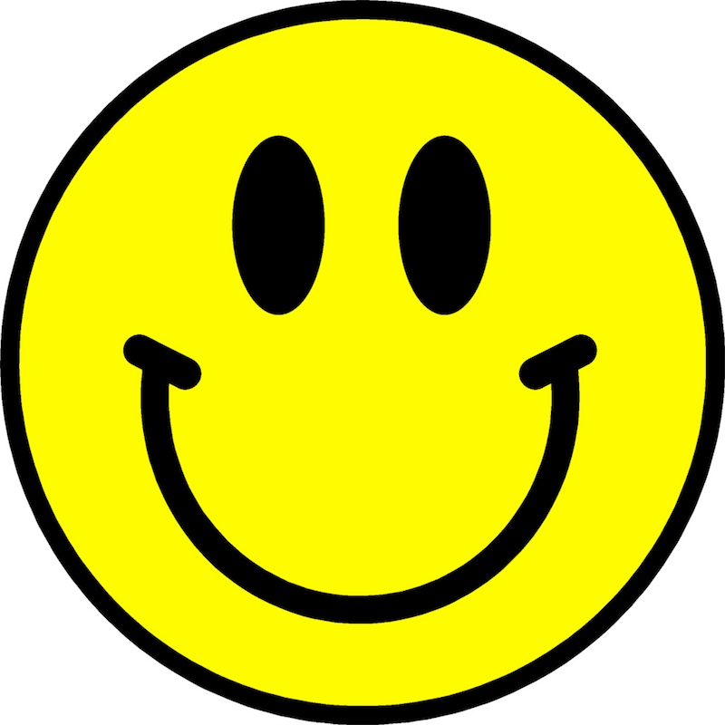 800x800 Smiley Clipart Positive