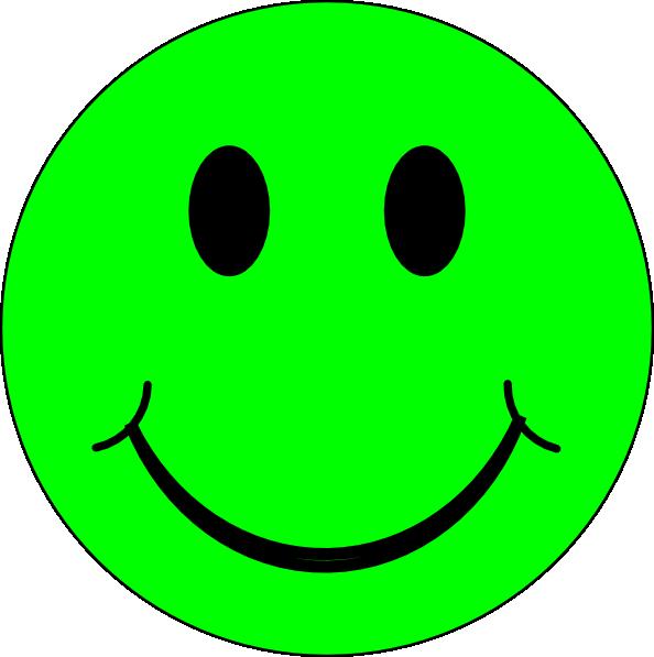 594x597 Green Sick Smiley Face Clipart