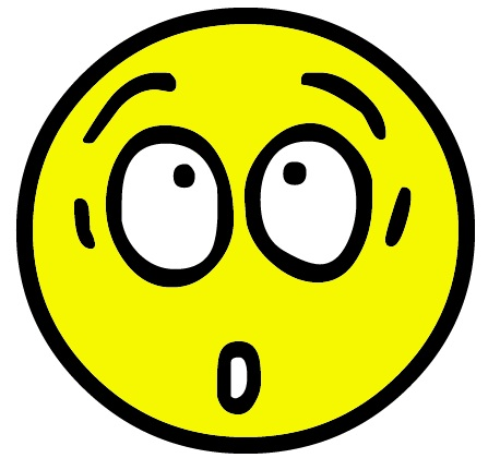 458x431 Shocking Clipart Funny Face