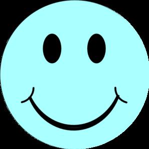 297x298 Blue Smiley Face Clip Art