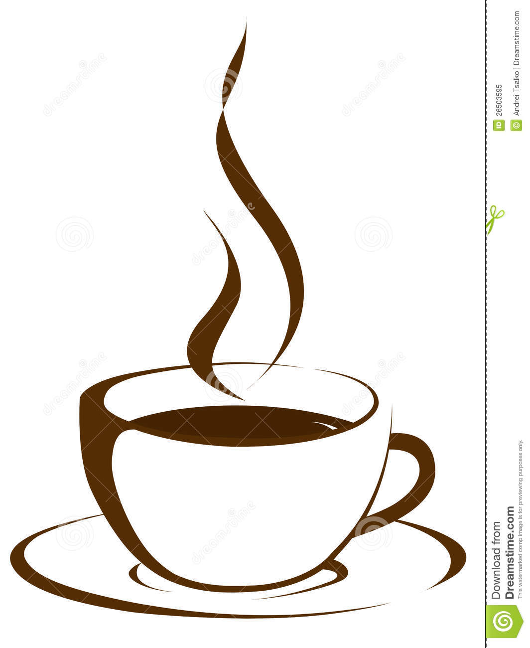 Smoke coffee. Clipart free download best