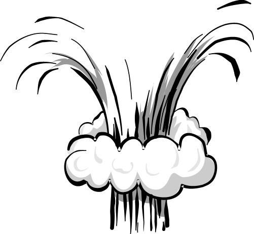 501x462 Smoke Plume Clipart
