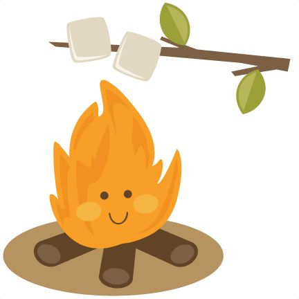 432x432 Campfire Smores Clipart Collection