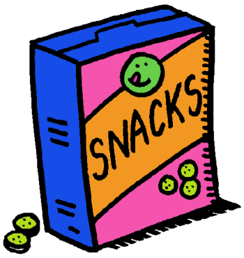 350x369 Candy Clipart Snack