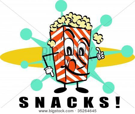 450x380 Healthy Snacks Clipart