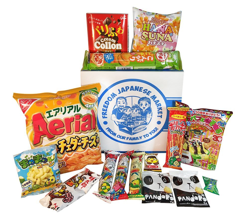1000x873 Japanese Snack And Candy Variety Pack (Original Pack