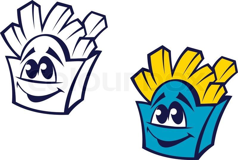800x541 Fast Food Potato Snack Stock Vector Colourbox