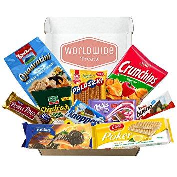 355x355 European Snack Mix Package By Worldwidetreats! Snacks