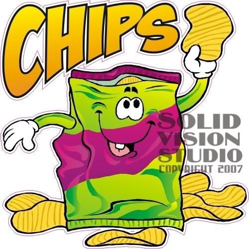 500x500 Chips Clipart Concession Stand Food
