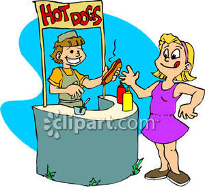 300x273 Football Clipart Concession Stand
