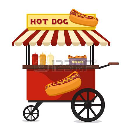 450x450 Hot Dog Clipart Hot Dog Cart
