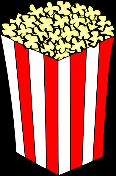 390x592 Popcorn Clipart Concession Stand