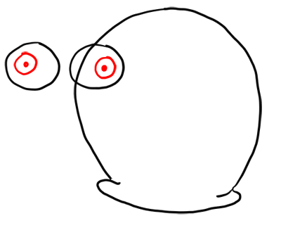 400x344 How To Draw Gary The Snail From Spongebob Squarepants Step By