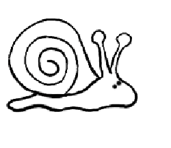250x217 Drawn Snail