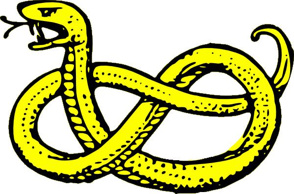 600x396 Snake Clip Art