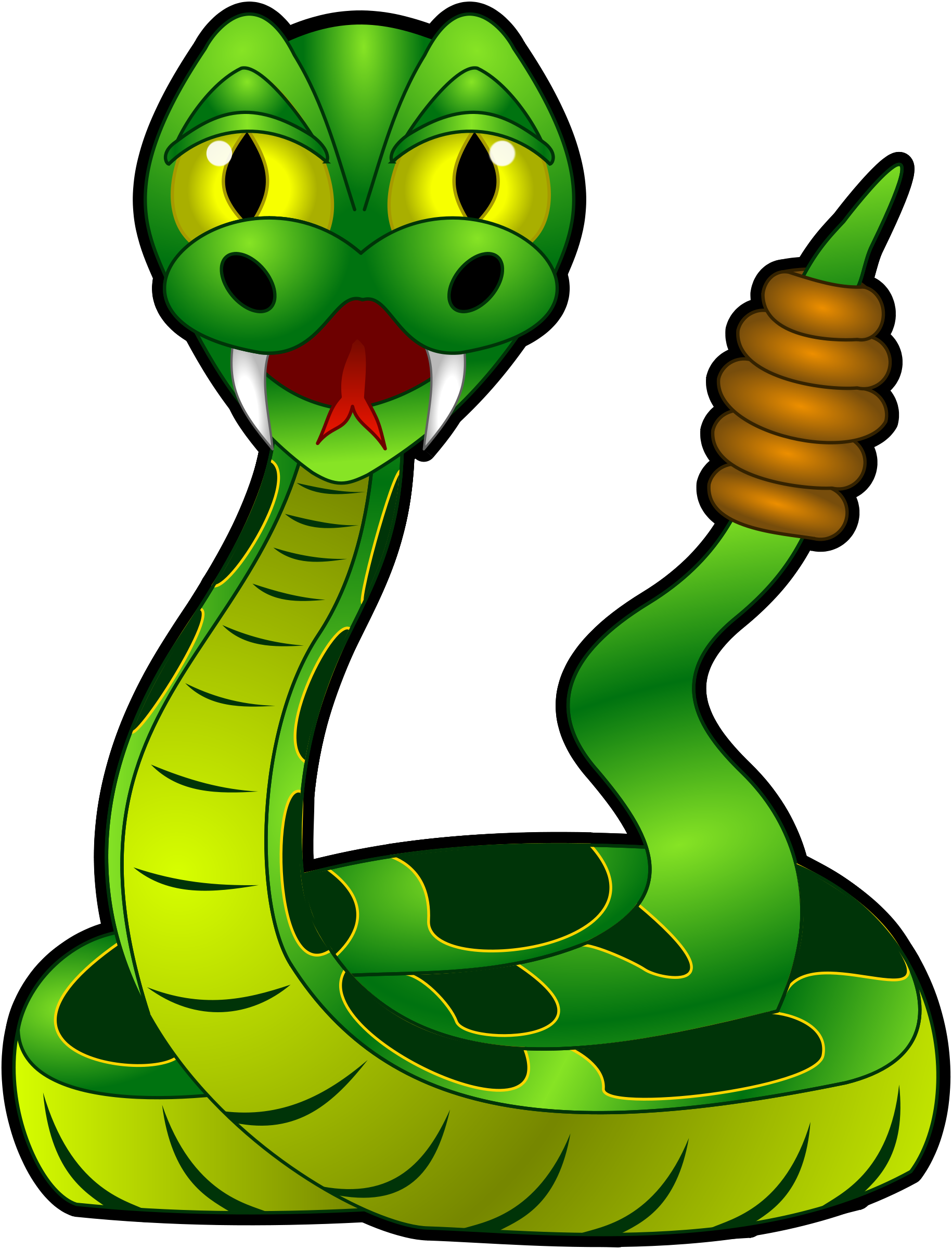 1830x2400 Diamondback Snake Clipart