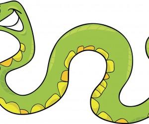 300x250 Snake Clip Art