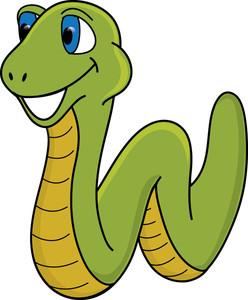 248x300 Free Snake Clip Art Image