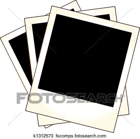450x447 Polaroid Frame Clipart Vector Graphics. 1,071 Polaroid Frame Eps