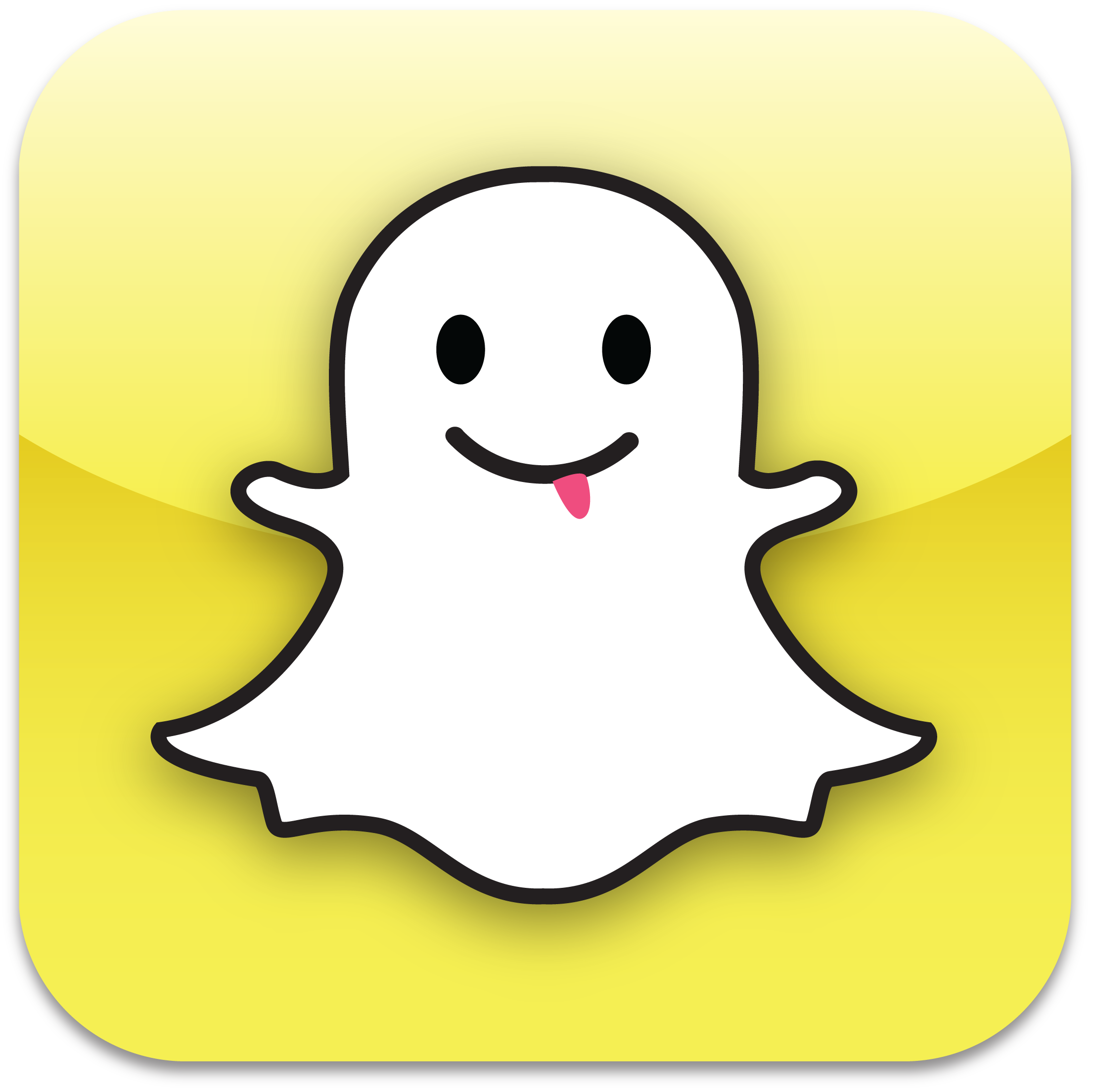 2210x2209 Snapchat Phone Clip Art Cliparts