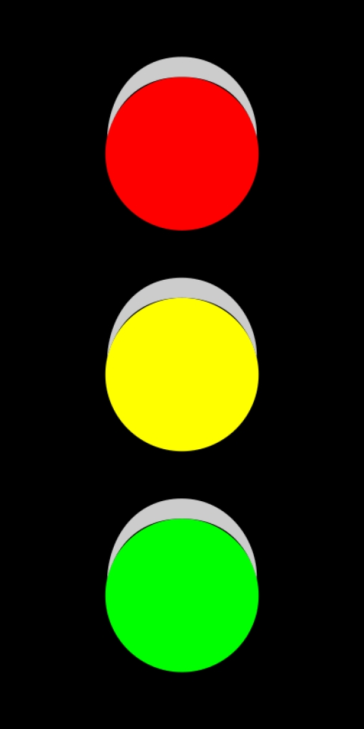 512x1024 Stop Light Animated Traffic Light Clipart Image 27095top 30 Png