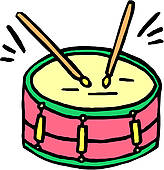 164x170 Snare Drum Clip Art