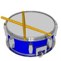 200x200 Snare Drum Clipart
