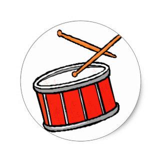 324x324 Snare Drum Stickers Zazzle