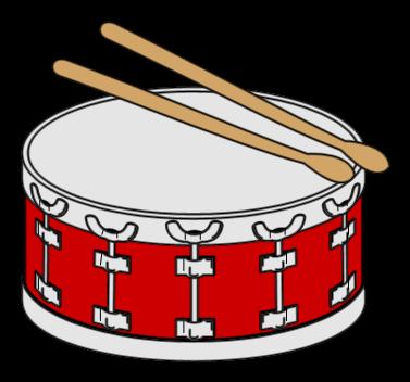 377x352 Snare Drum Clip Art 3
