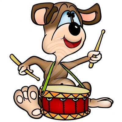 400x400 Snare Drum Dog Drum Clipart