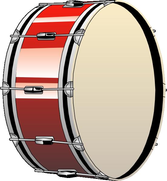 552x598 Bass Drum Clip Art