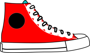 296x174 Red Hightop Clip Art