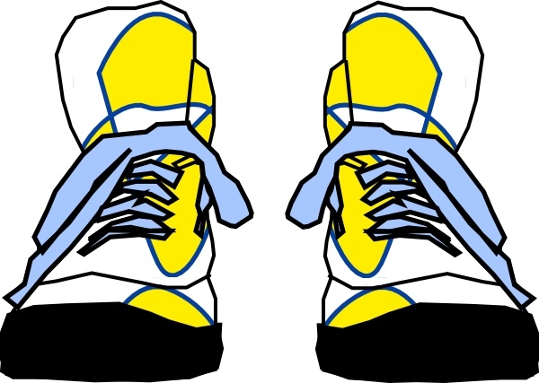 600x427 Hightop Sneakers Clip Art Free Vector In Open Office Drawing Svg