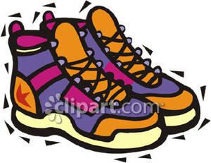 300x231 Walking Sneakers Walking Sneakers Clip Art