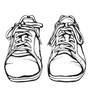 380x400 Shoe Clipart Front View