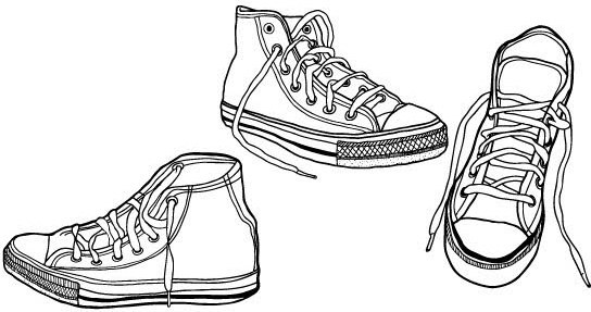 544x287 Sneaker Vector Free Vector Download (41 Free Vector)