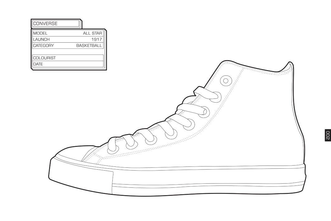 1063x709 The Sneaker Coloring Book Daniel Jarosch 8601419686582 Amazon