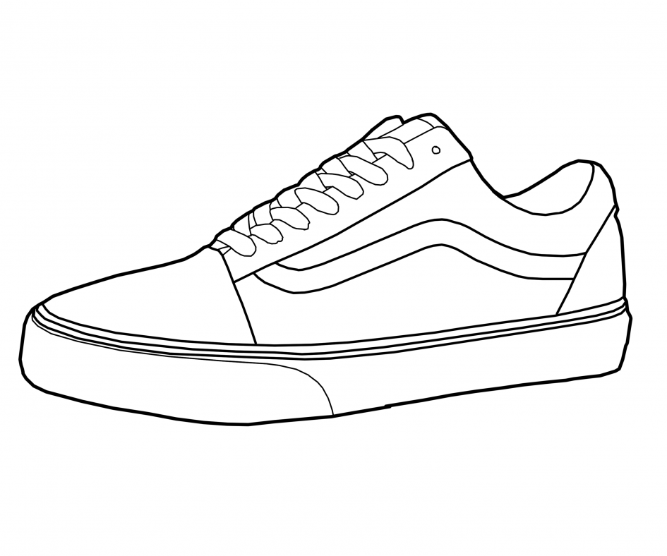 d663c9dec438 945x788 Canvas Sneakers Drawing Nike Sneakers Drawing Sneakers Drawing