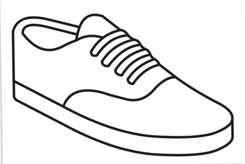 484x325 Drawn Sneakers Cool Sneaker