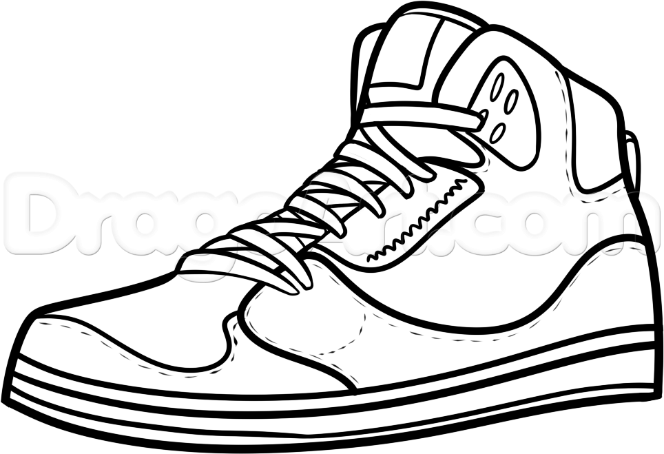 964x659 Drawn Sneakers Easy
